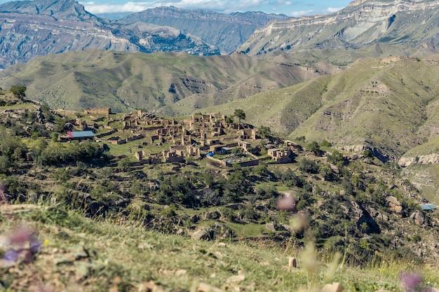 Ruinas de un antiguo pueblo de montaña
