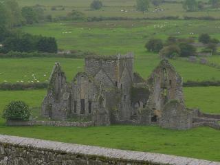 Las ruinas del castillo de época