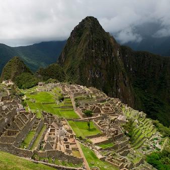 Ruinas de la ciudad perdida de los incas, machu picchu, región de cusco, perú