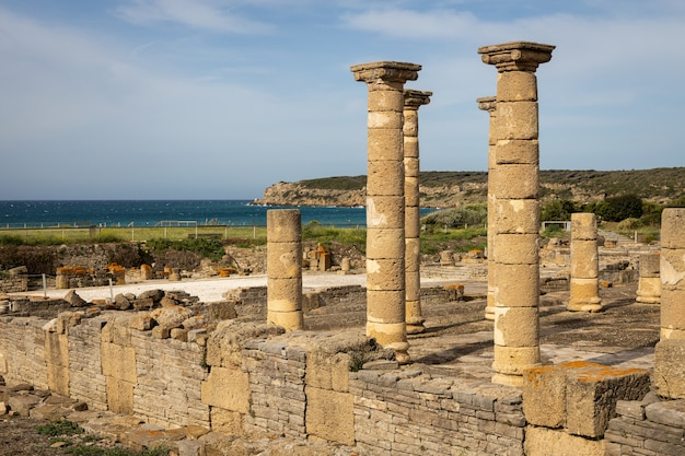 Ruinas romanas de baelo claudia, situadas cerca de tarifa. andalucia españa.