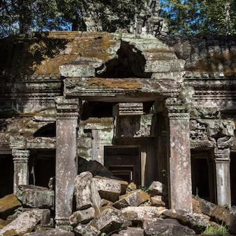 Ruinas del templo, krong siem reap, siem reap, camboya