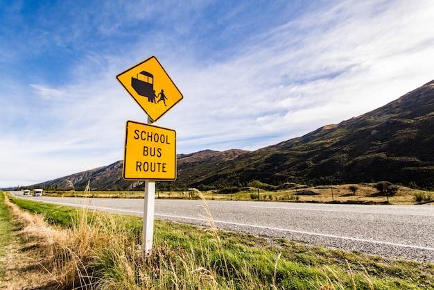 Ruta de autobús escolar