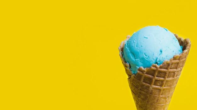 Sabrosa taza de helado