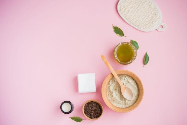 Sal de baño cosmética, goma de uva para la cara, exfoliante de café para el cuerpo