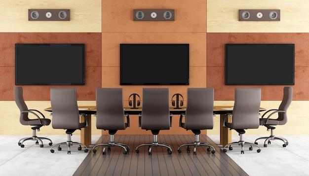 Sala de conferencias contemporánea