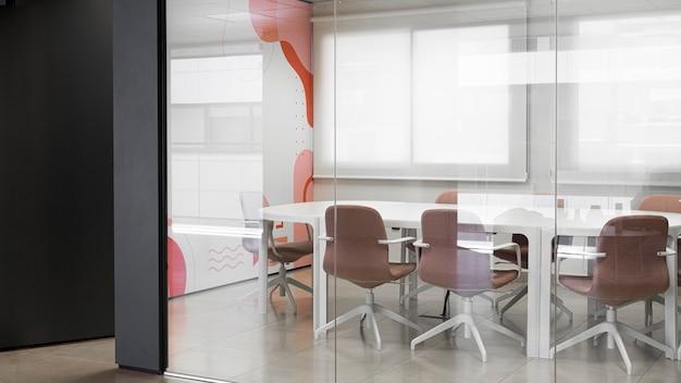 Sala de conferencias sin personas
