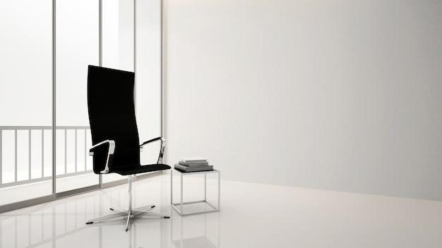 Sala de estar o lugar de trabajo en apartamento u hotel - diseño de interiores