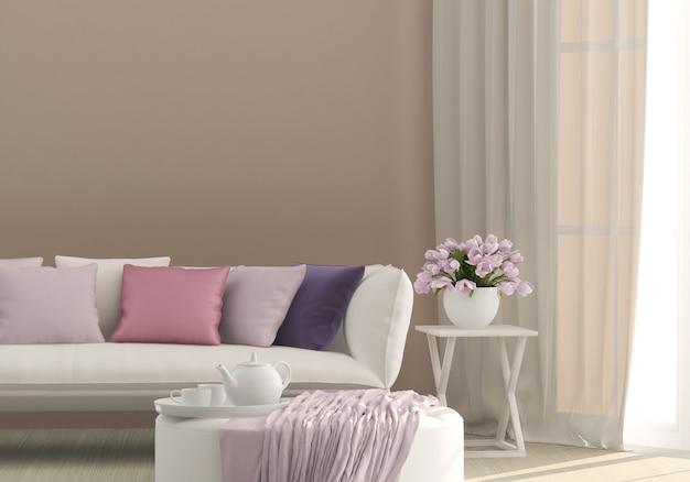 Sala de estar soleada
