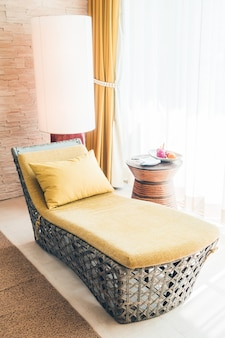 Sala de relajación casero comodidad de estar