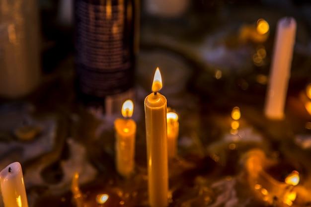 Sala de vela misterio religión