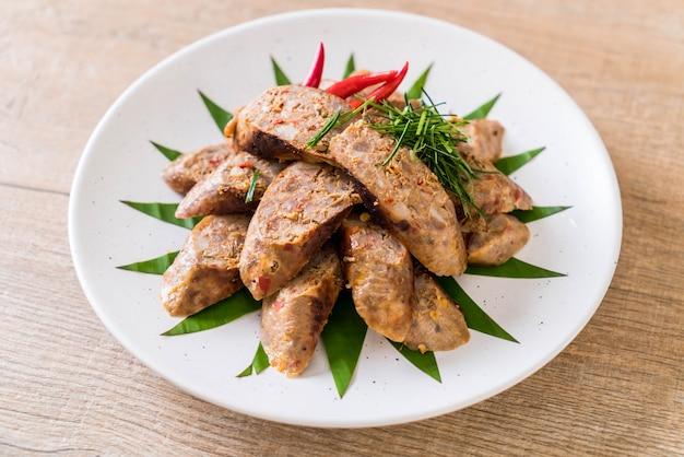 Salchicha picante tailandesa notrhern