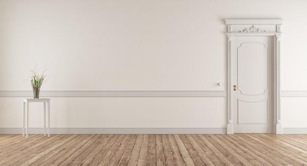 Salón vacío en estilo clásico