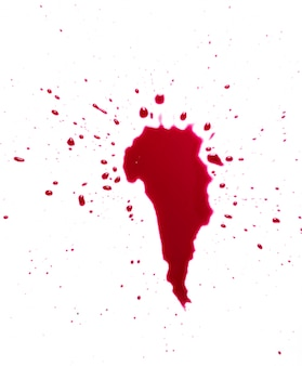 Salpicadura de sangre