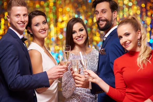 Saludos por el mejor año nuevo