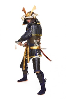 Samurai con armadura