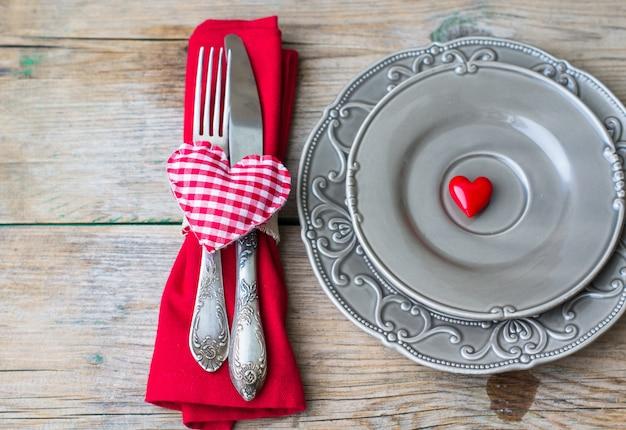 San valentín en estilo vintage