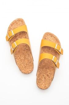 Sandalias de cuero de moda para hombre y mujer (unisex).