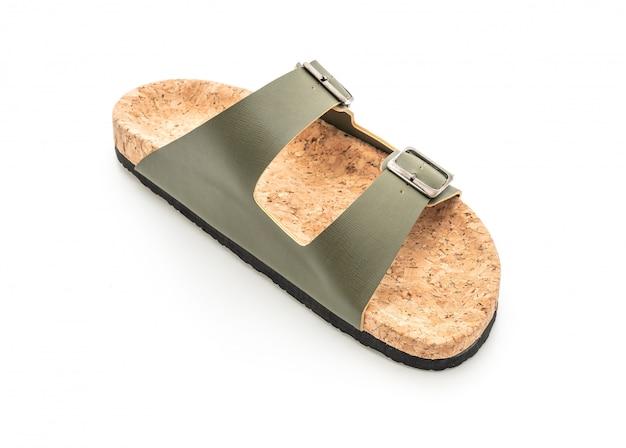 Sandalias de cuero de moda para hombres y mujeres (unisex)
