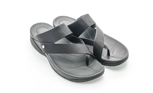 Sandalias de moda para hombres hermosos