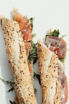 Sándwich de baguette