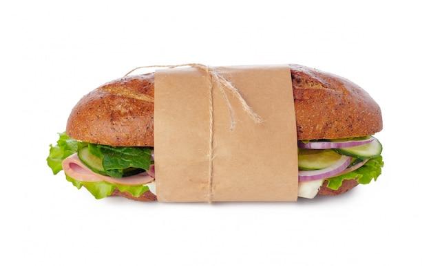 Sandwich en blanco