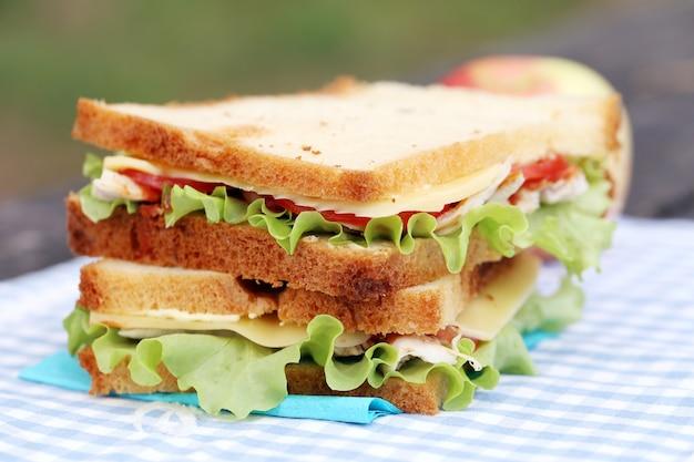 Sándwich delicioso