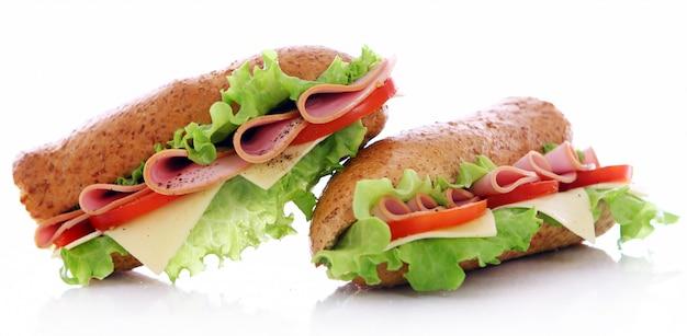 Sandwich fresco y sabroso