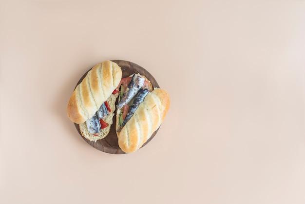 Sandwich para el regreso a la escuela