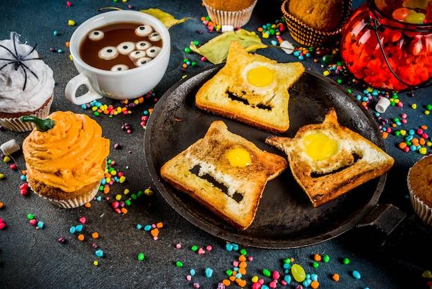 Sandwiches infantiles divertidos para halloween