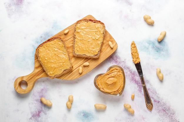 Sándwiches de mantequilla de maní