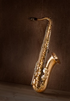 Saxo tenor saxofon tenor vintage retro