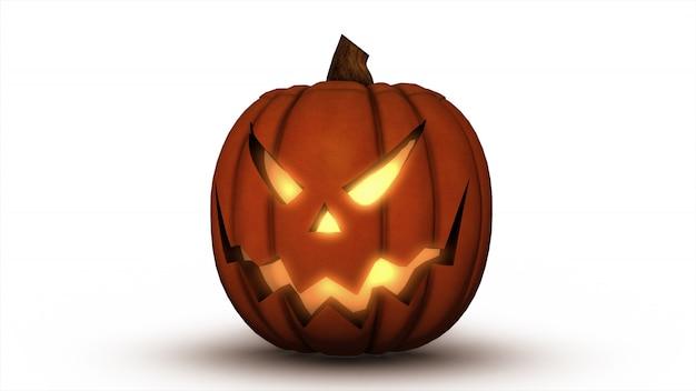 Scary jack o lantern calabaza de halloween
