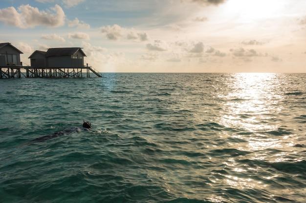 Seascape paraíso complejo impresionante