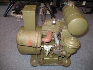 La segunda guerra mundial pe-77-d del generador