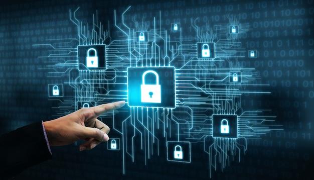 Seguridad cibernética y protección de datos digitales