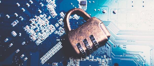 Seguridad de red, seguridad de datos, bloqueo de internet.
