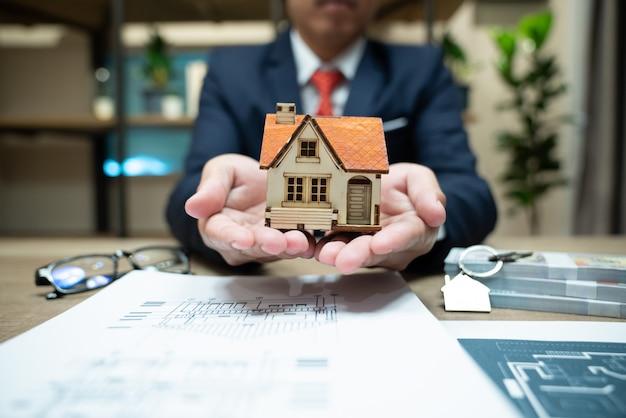 Seguro del hogar, protección de seguro de vida familiar, hipoteca financiera para la construcción de viviendas