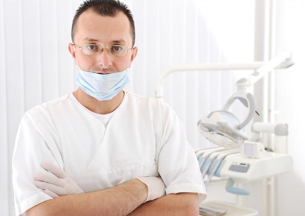 Seguro médico exitoso en el hospital, serie de fotos relacionadas