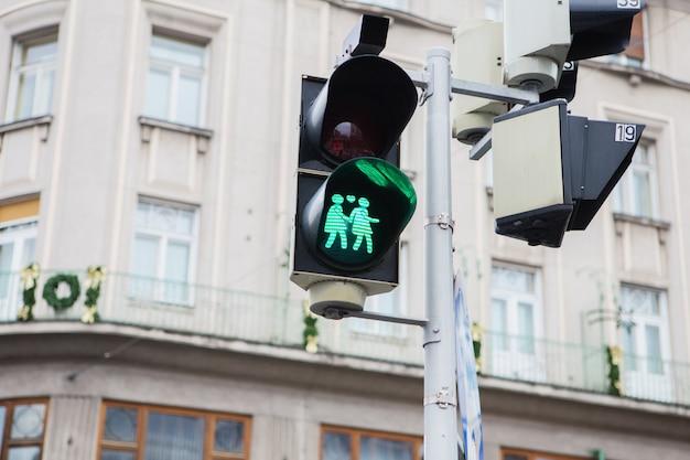 Semáforo de cruce de peatones