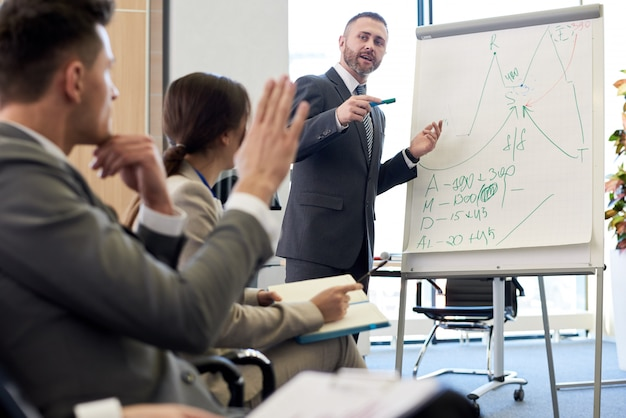 Seminario de capacitación en negocios