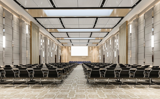 Seminario sala ejecutiva en hotel