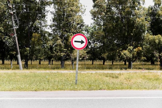Señal de carretera