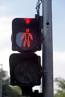 Señales de tráfico en sao paulo