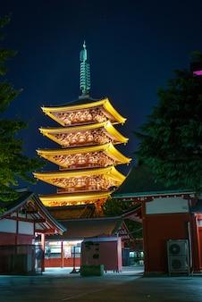 Senso-ji en asakusa japón
