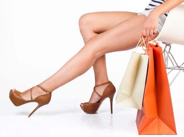 Sensualidad femenina toque femenino de lujo