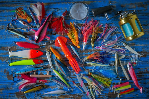 Señuelos de pesca de pesca colección minnows