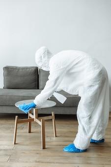 Servicios de desinfección y limpieza.
