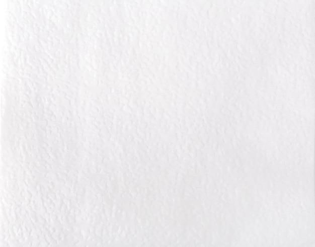 Servilleta de papel en blanco