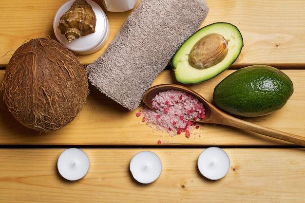 Set para masaje o cuidado corporal