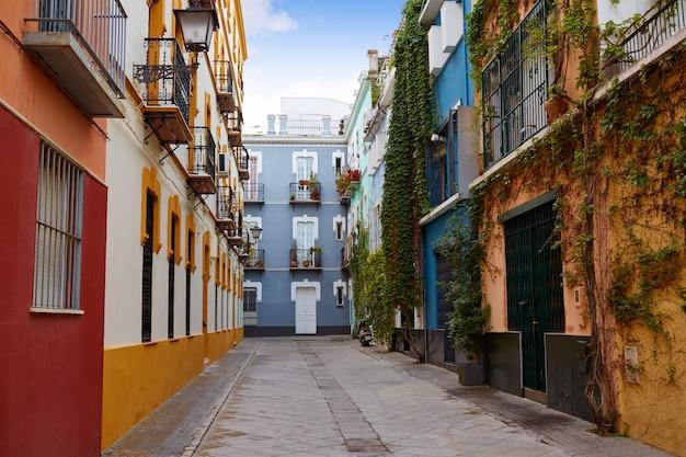 Sevilla macarena barrio fachadas sevilla españa